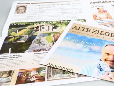 Zeitung Ziegelei